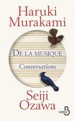 Vente EBooks : De la musique  - Haruki Murakami - Seiji OZAWA