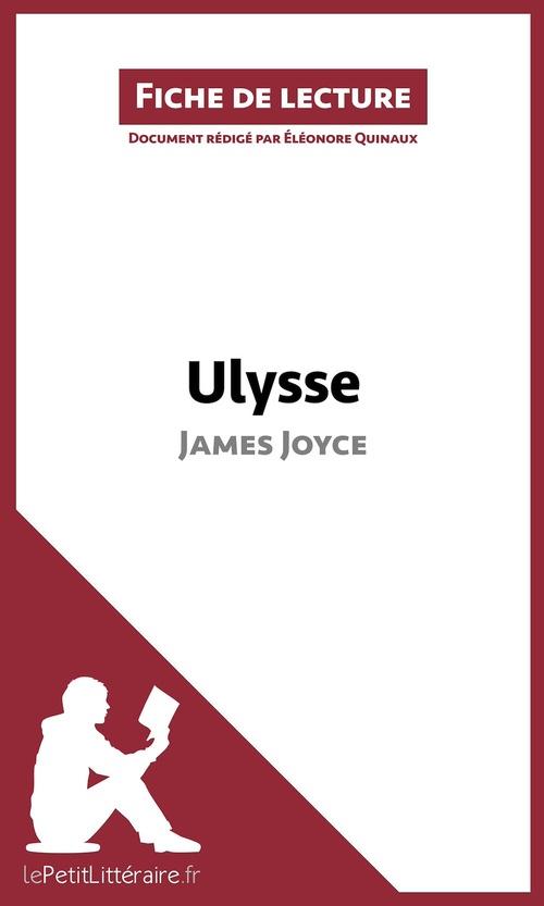 Analyse ; Ulysse de James Joyce ; résumé complet et analyse détaillée de l'½uvre