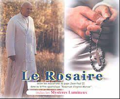 Le rosaire ; les mystères lumineux