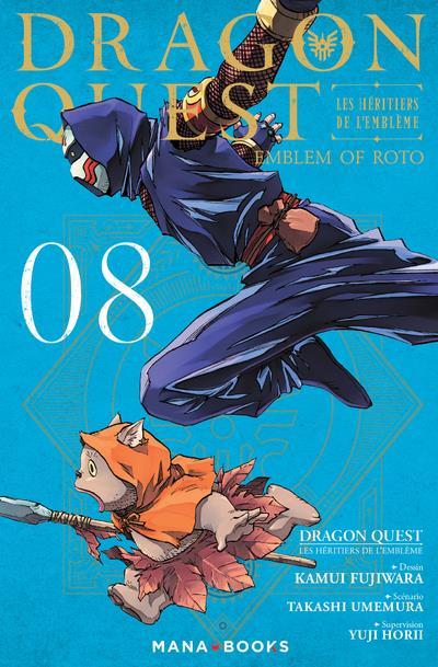 Dragon quest - les héritiers de l'emblème t.8