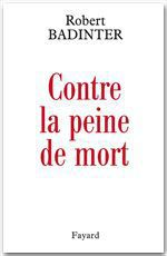 Vente EBooks : Contre la peine de mort  - Robert Badinter
