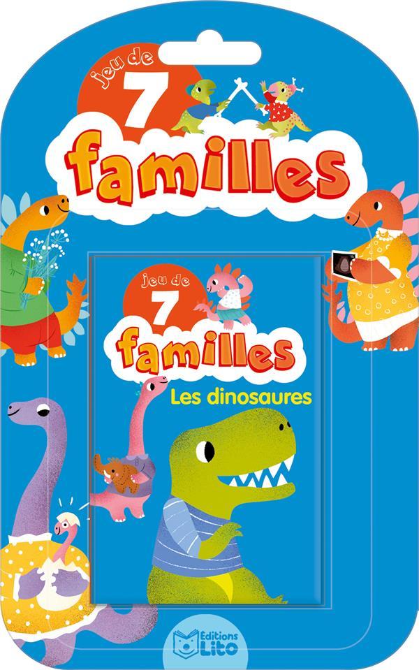 Jeux de 7 familles ; jeu de 7 familles ; les dinosaures
