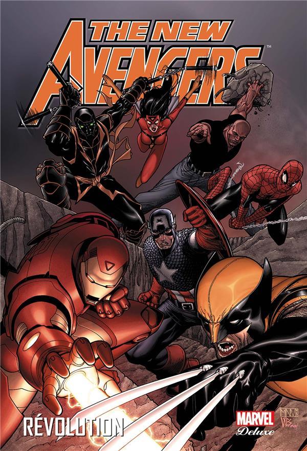 The New Avengers T.3 ; Revolution