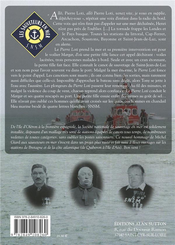 Atlantique t.2 ; sauveteurs en mer