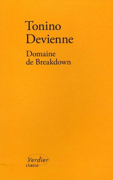 Domaine de breakdown