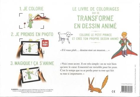 cahier de dessin animé ; le Petit Prince