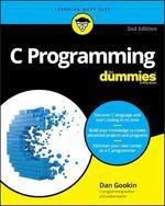 Vente Livre Numérique : C Programming For Dummies  - Dan Gookin
