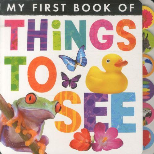 My first book of things to see