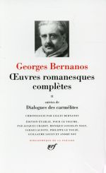 Oeuvres romanesques complètes t.2 ; dialogues des carmélites
