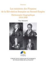 Vente Livre Numérique : Les ministres des Finances de la Révolution française au Second Empire (II)  - Guy Antonetti
