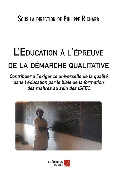l'éducation à l'épreuve de la démarche qualitative