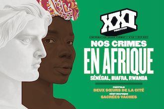 Revue xxi n.39 ; nos crimes en afrique ; senegal, biafra, rwanda