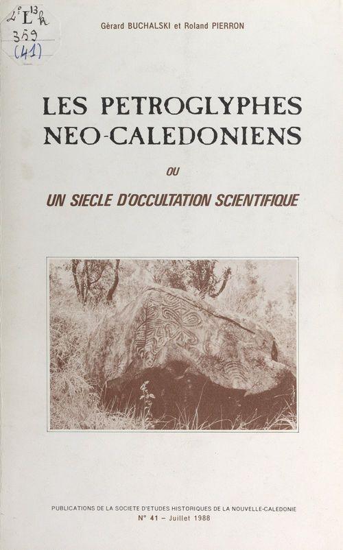Les pétroglyphes néo-calédoniens