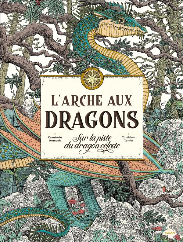 L'arche aux dragons ; sur la piste du dragon céleste