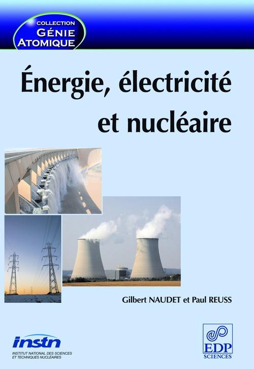énergie, électricité et nucléaire