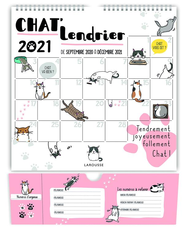 Chat'lendrier (édition 2021)
