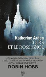 Vente Livre Numérique : Trilogie d´une nuit d´hiver (Tome 1) - L'Ours et le Rossignol  - Katherine Arden