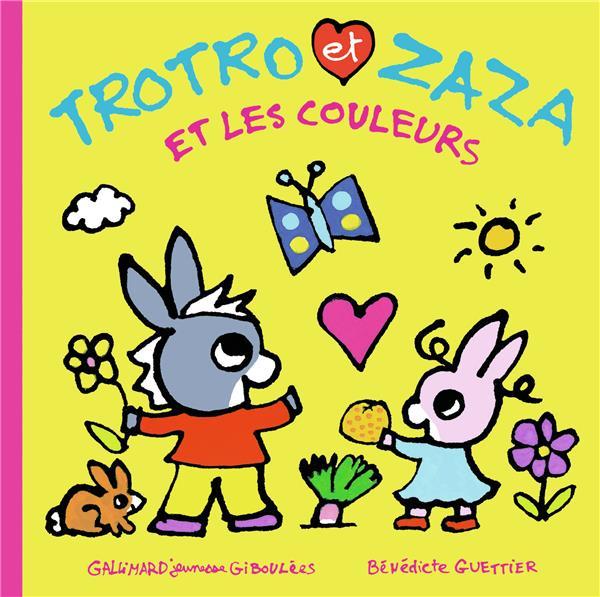 Trotro et Zaza et les couleurs