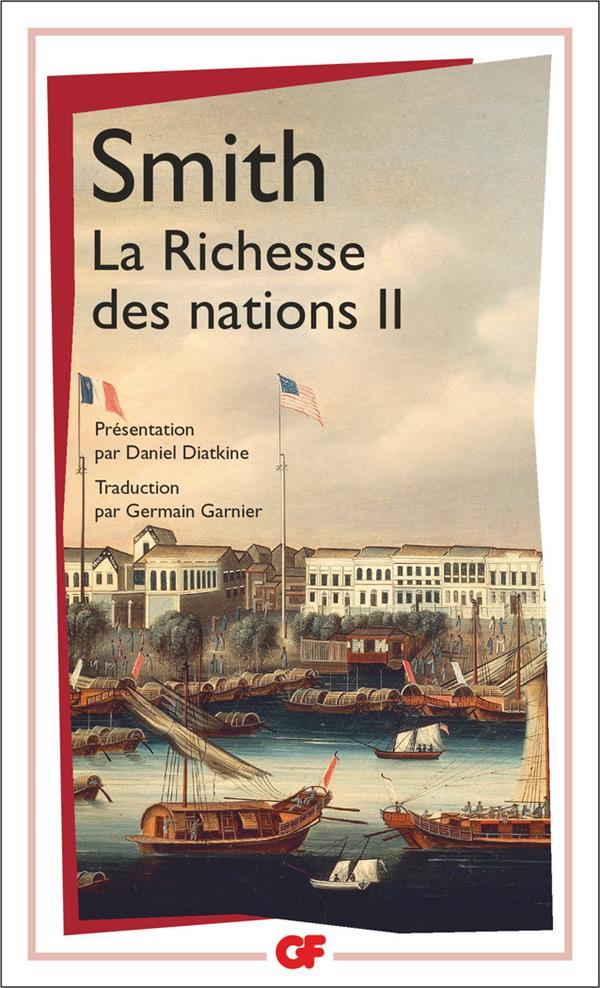La Richesse Des Nations  T2