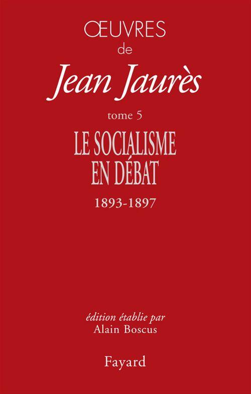 Vente EBooks : Oeuvres Tome 5  - Jean Jaurès