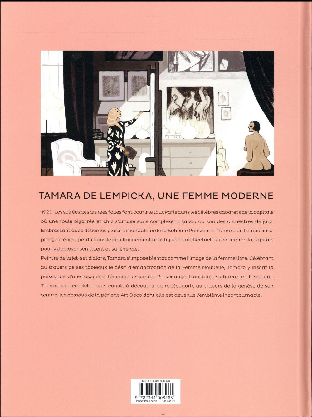 Tamara de Lempicka ; une femme moderne