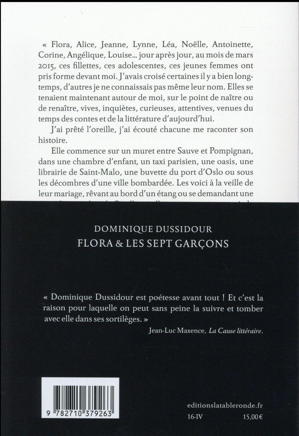 Flora et les sept garcons ; nouvelles et contes d'aujourd'hui