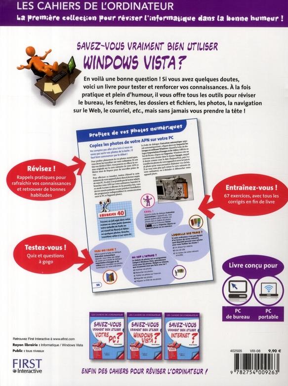 Savez-vous vraiment bien utiliser Windows Vista