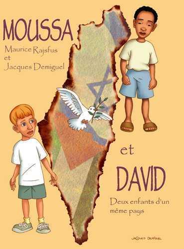 Moussa et David, deux enfants d'un même pays