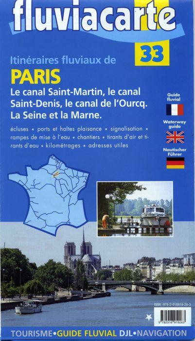 Itinéraires fluviaux de Paris