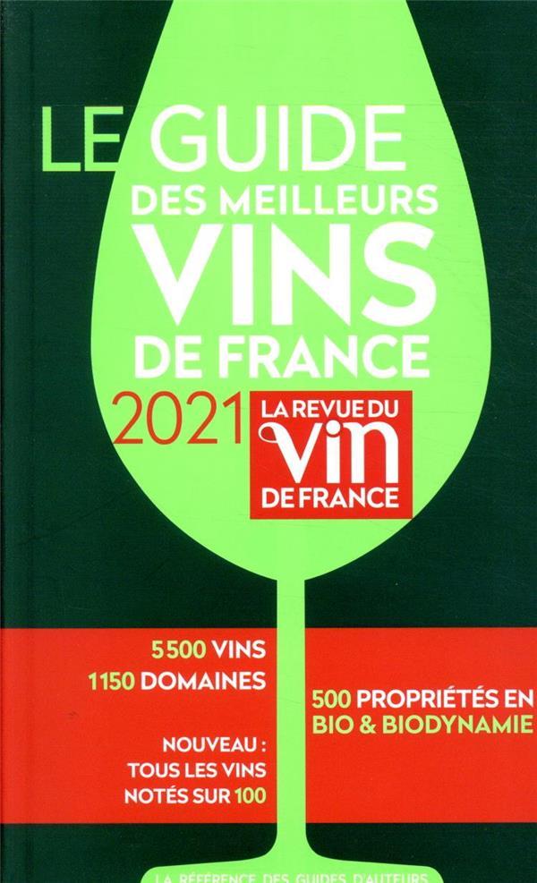 Le guide des meilleurs vins de France (édition 2021)