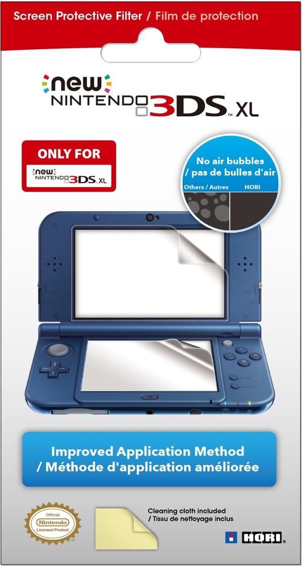 filtre de protection d'écran pour Nintendo New 3DSXL