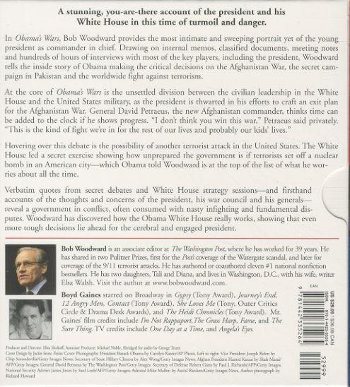 Obama's wars - abridged 6 cds