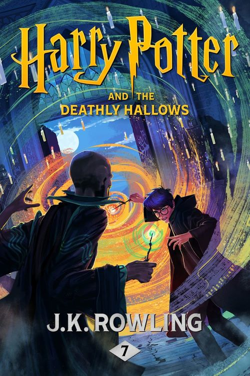HARRY POTTER AND THE DEATHLY HALLOWS - BOOK 7