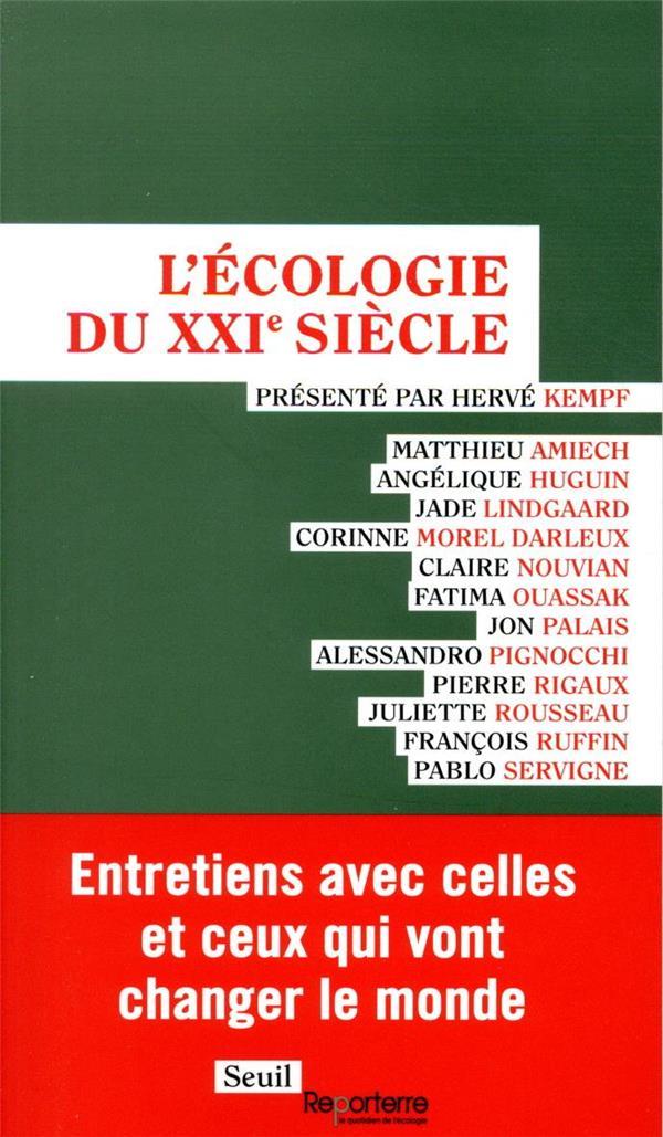 L-ECOLOGIE DU XXIE SIECLE