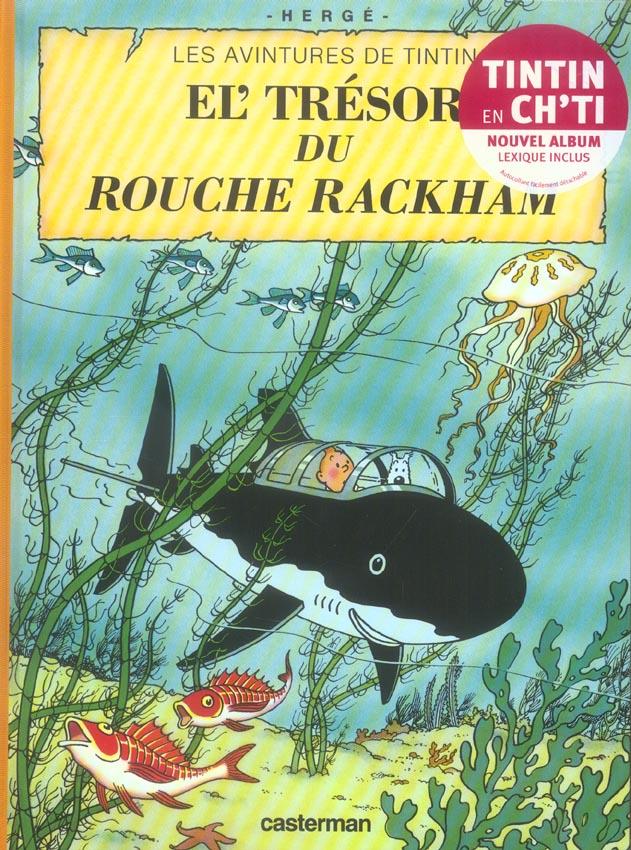 Les aventures de Tintin ; les avintures de Tintin t.12 ; el' tresor du rouche rackham