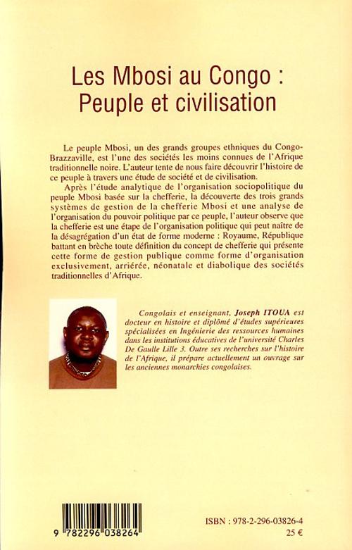 Les Mbosi au Congo : peuple et civilisation