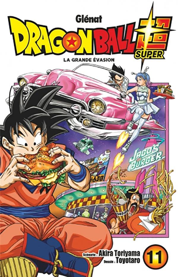 Dragon Ball Super T.11 ; la grande évasion