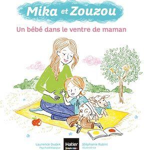 Mika et Zouzou t.7 ; un bébé dans le ventre de maman
