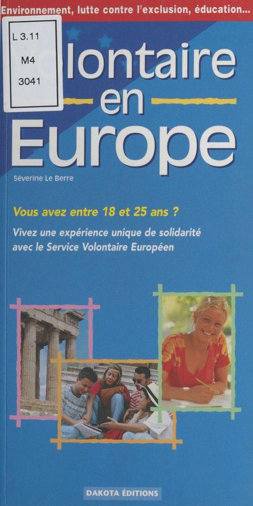 Volontaire en europe