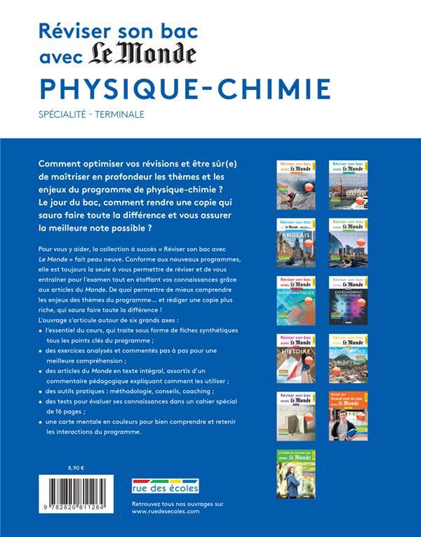 Réviser son bac avec Le Monde ; spécialité physique-chimie