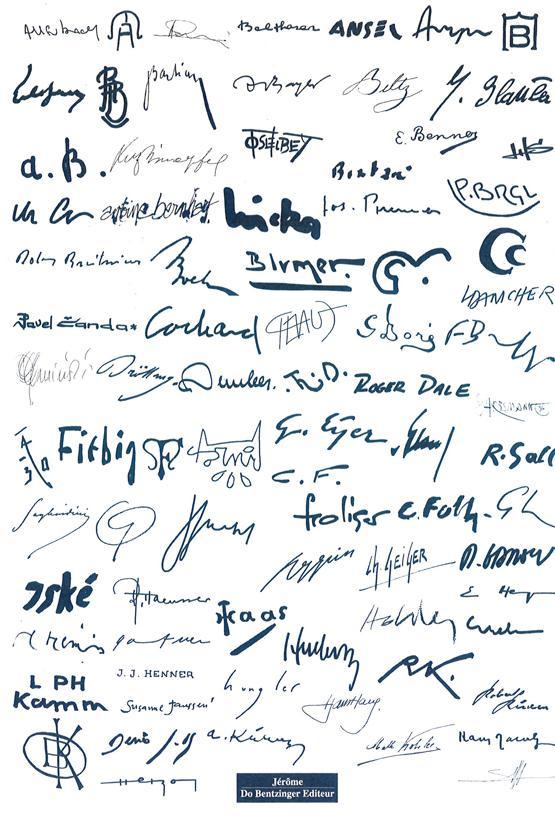 Signatures et monogrammes des artistes peintres alsaciens