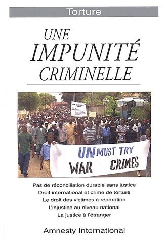 Torture ; une impunité criminelle