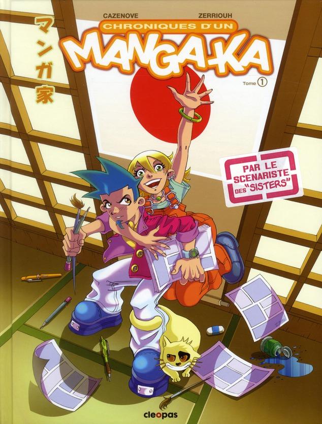 Chroniques d'un manga-ka t.1