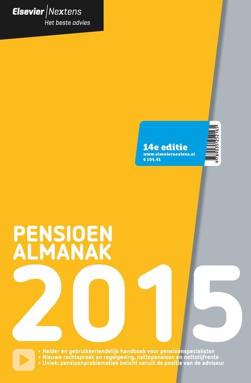 Pensioen almanak  / 2015