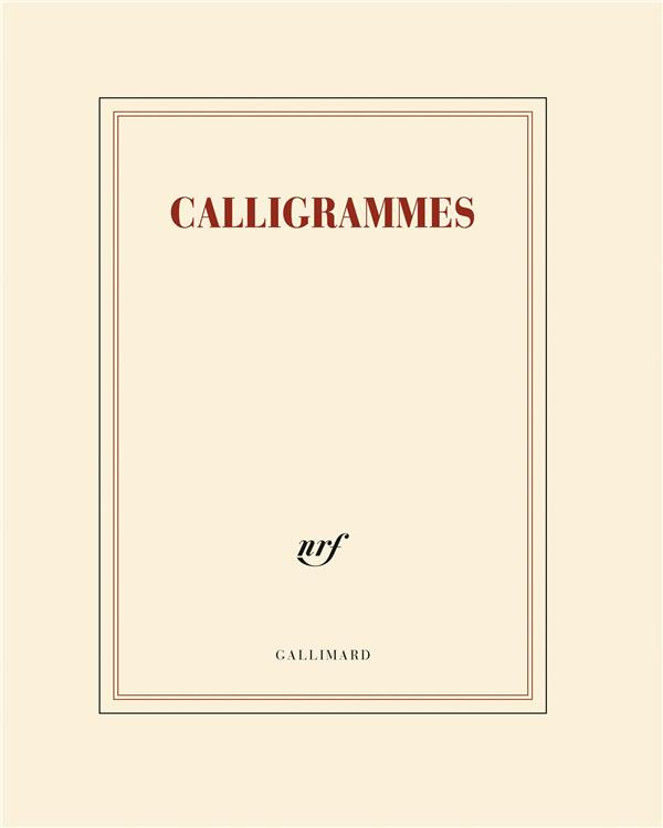 Papeterie gallimard ; cahier