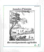 Annales d'histoire des enseignements agricoles