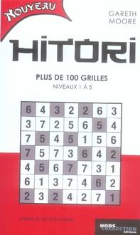 Hitori ; plus de 100 grilles, niveaux 1 à 5