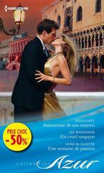 Vente Livre Numérique : Amoureuse de son ennemi - Un cruel soupçon - Une semaine de passion  - Anne McAllister - Lee Wilkinson - India Grey