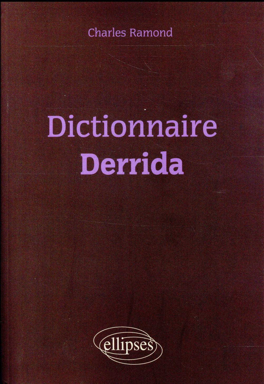 dictionnaire de derrida
