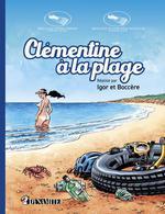Clémentine à la plage